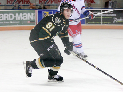 Kyle Platzer (2011/12) - London Knights (OHL)