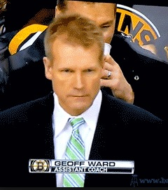 Geoff Ward (1993/94)- Ass't Coach Boston Bruins